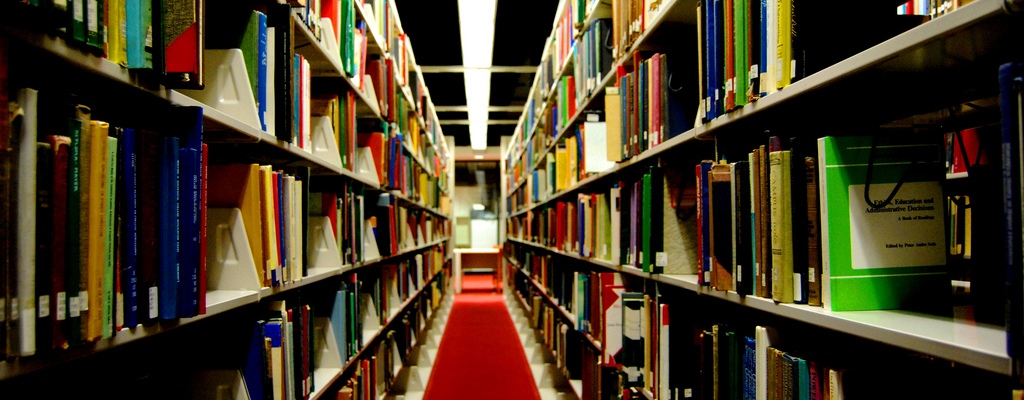 libraries are creepy by Paul Lowry