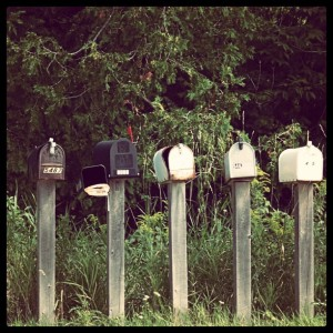 Letter boxes by Princess MeLeia on Flickr