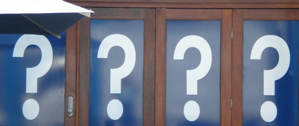 question marks by mikecogh on Flickr