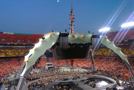 U2's 360 stage by jgarber on Flickr